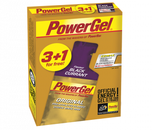 Vorteilspack: 3+1 PowerGel Original Black Currant